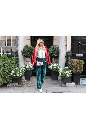 Gucci bag - Topshop pants - Topshop top