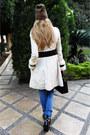 Black-balenciaga-boots-off-white-elisabetta-franchi-coat