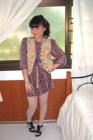 Vintage by Love for Preloved dress - Vintage by Love for Preloved vest - Zara be