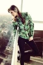 Green Herbs sweater