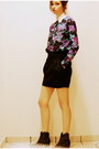 Turquoise-blue-floral-print-sweater-amethyst-floral-sweater