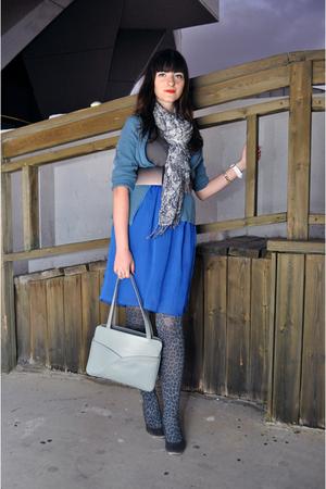 jacket - Zara belt - Ebay stockings - vintage purse