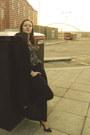 Black-bespoke-tailored-coat-black-high-waisted-dresskode-jeans