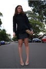 Black-dianne-von-furstenberg-blouse-black-kookai-jacket-brown-witchery-acces