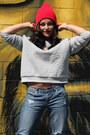 Target-jeans-forever-21-hat-charlotte-russe-heels-h-m-sweatshirt