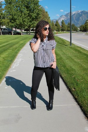 Target boots - Target jeans - Forever 21 top