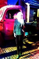 Zara sweater - Aldo boots - Calzedonia leggings