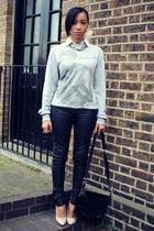 vintage bag - select pants - Primark jumper