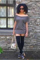 KG Carvela shoes - Jane Norman dress - Primark bag - Primark socks