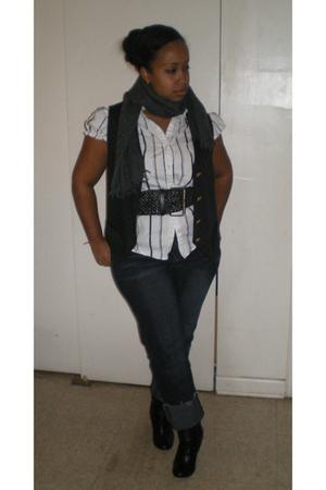 vest - belt - boots