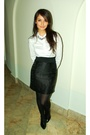 Black-h-m-skirt-white-h-m-shirt-black-aldo-shoes