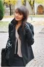 Nunu-lie-coat-tally-weijl-dress-zara-jacket-morgan-purse-lorenzo-shoes-