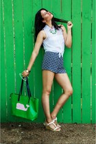 green Lucky B Boutique necklace - green Lucky B Boutique purse