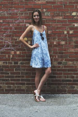 denim dress LuckyB Boutique dress