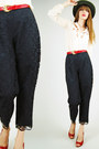 Black-lucky-rabbit-vintage-pants