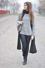 Black-giuseppe-zanotti-boots-heather-gray-h-m-sweater