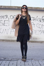 Black-oasap-dress-neutral-miu-miu-bag