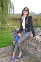 Vero Moda blazer - Elisabetta Franchi-Celyn b shirt - Celine bag