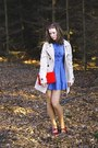 Red-shoes-sky-blue-denim-h-m-dress-beige-trench-terranova-coat-red-with-ro