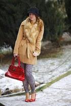 New Yorker shoes - Tally Weijl coat - hat - New Yorker leggings