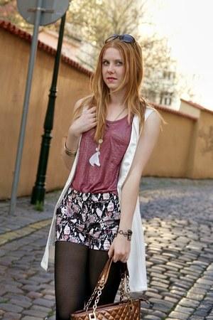 Sheinside dress - Domi bag - H&M shorts - Luhu top