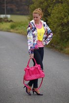CCC bag - New Yorker shoes - Pimkie jeans - H&M jacket - Tally Weijl top