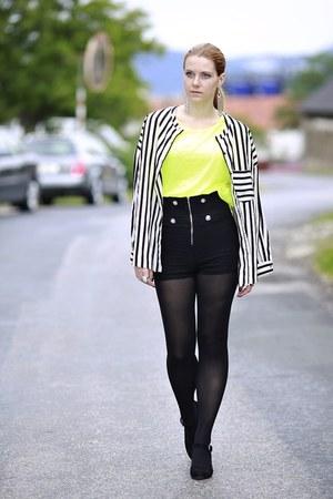 Mango shirt - black Body Central shorts