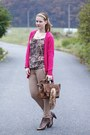 Humanic-sandals-zara-bag-h-m-cardigan-new-yorker-blouse-zara-pants