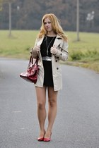 Terranova coat - New Yorker shoes - F&F dress