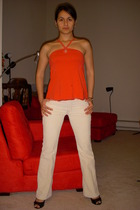 Gap pants - armani blouse - Nine West shoes