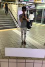 White-deepstyle-pants
