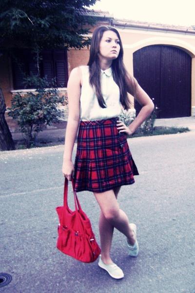 H&M shoes - H&M bag - H&M blouse