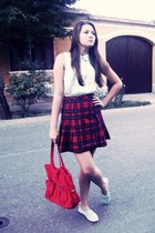 H&M shoes - H&M bag - H&M blouse