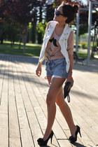 camel blouse