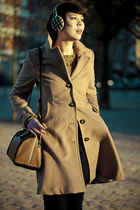 H&M coat - See by Chloe bag