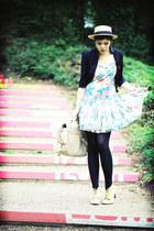flowers Zara dress