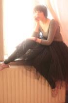 Newlook bodysuit - petticoat Repetto skirt - Anniel flats