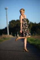 new lookk dress - Miu Miu pumps - H&M necklace