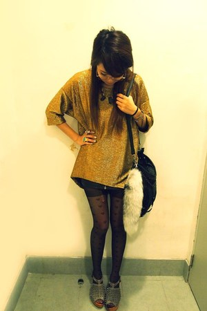 gold dress dress