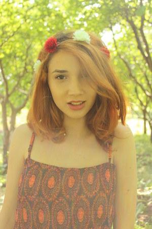 ruby red Femininity hair accessory