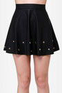 Black LuLus Skirts