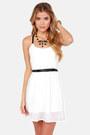 Ivory LuLus Dresses