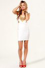 White LuLus Dresses