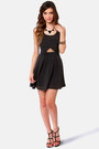 Black LuLus Dresses