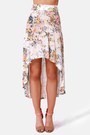 Ivory LuLus Skirts