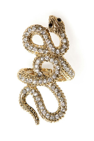 gold LuLus ring