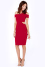 Ruby-red-lulus-dress