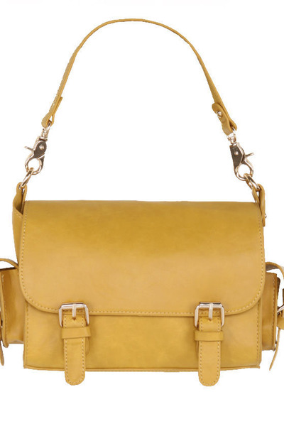 mustard satchel LuLus purse
