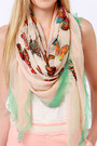 Light Pink Lu Lus Scarves