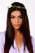 white LuLus hair accessory